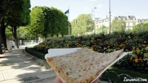 Comida de rua em Paris 2