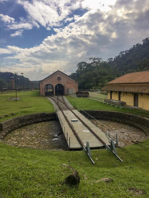 antiga estação de trem de Paranapiacaba