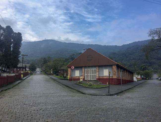 Edifícios antigos em Paranapiacaba
