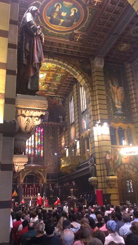 Canto Gregoriano no Mosteiro de São Bento