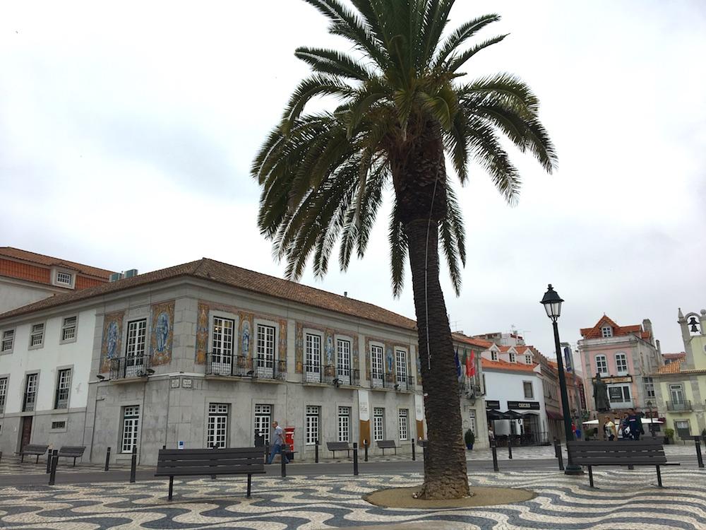 Praça central de Cascais