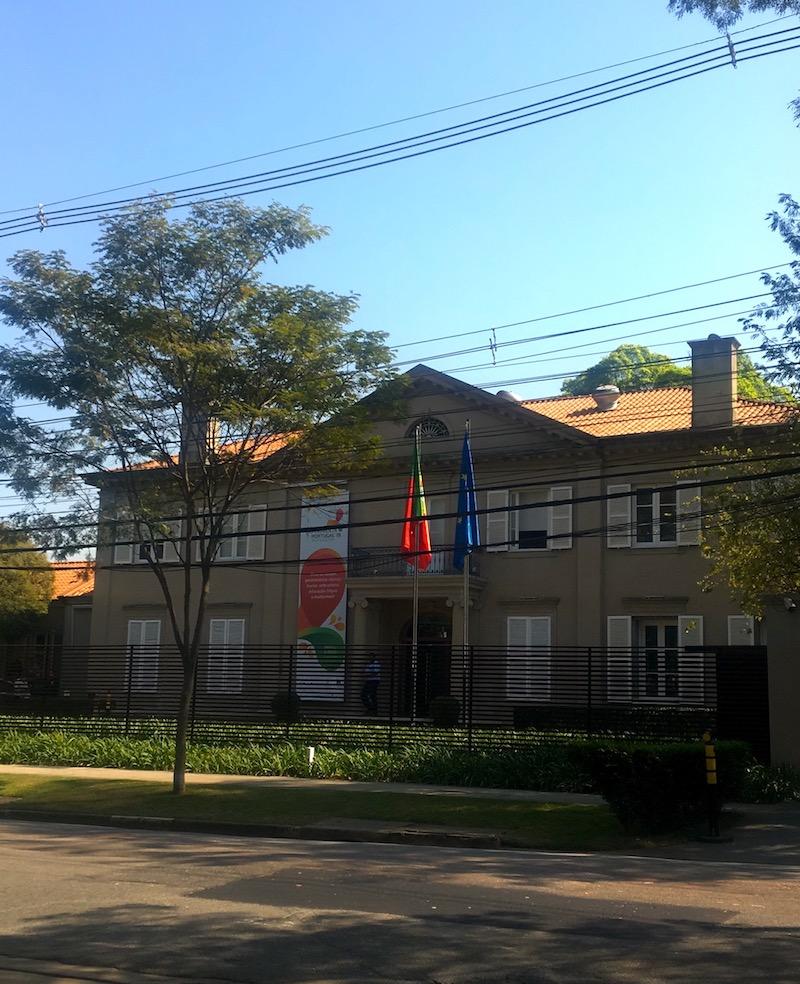 Edifício do Consulado Geral de Portugal em São Paulo