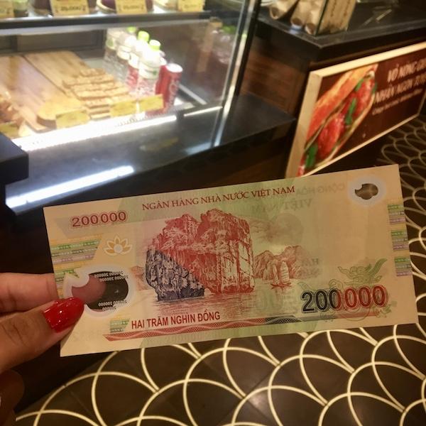 Dinheiro do Vietnã