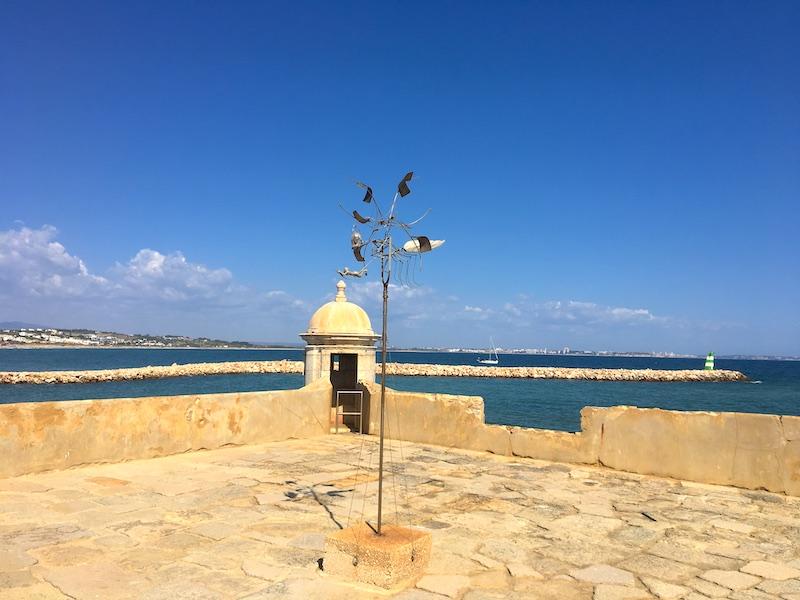 Forte da Ponta da Bandeira  no Algarve
