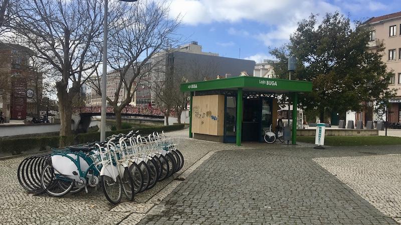 BUGA bicicleta de graça em Aveiro