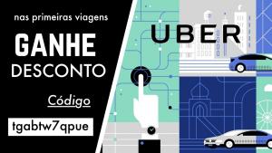 Código de desconto no Uber