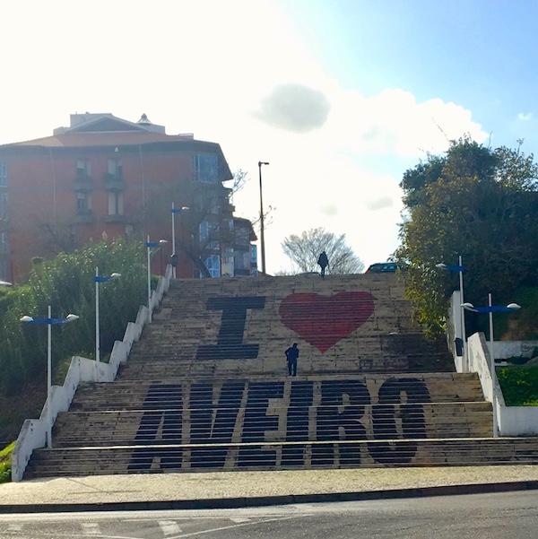 Eu amo Aveiro