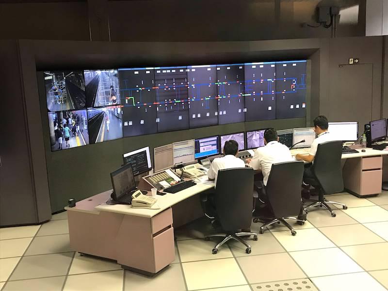 Central de Controle de Operação do metrô