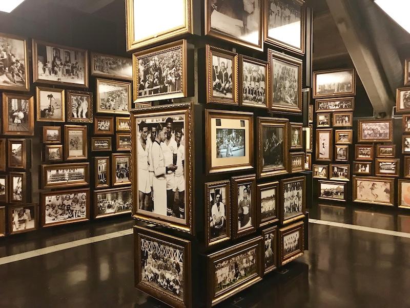 História do futebol no museu