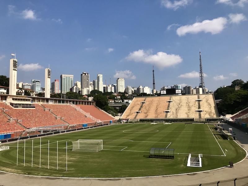 Gramado do Estádio do Pacaembu