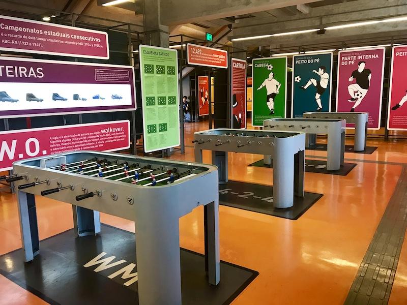 Museu do Futebol interativo