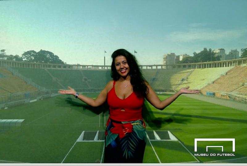 Museu do Futebol é interativo