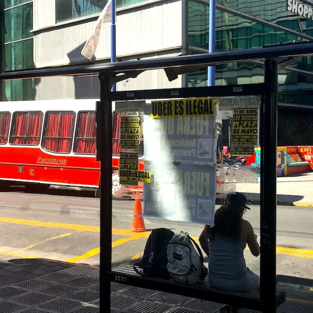 Ainda existe resistência contra a presença do UBER na cidade