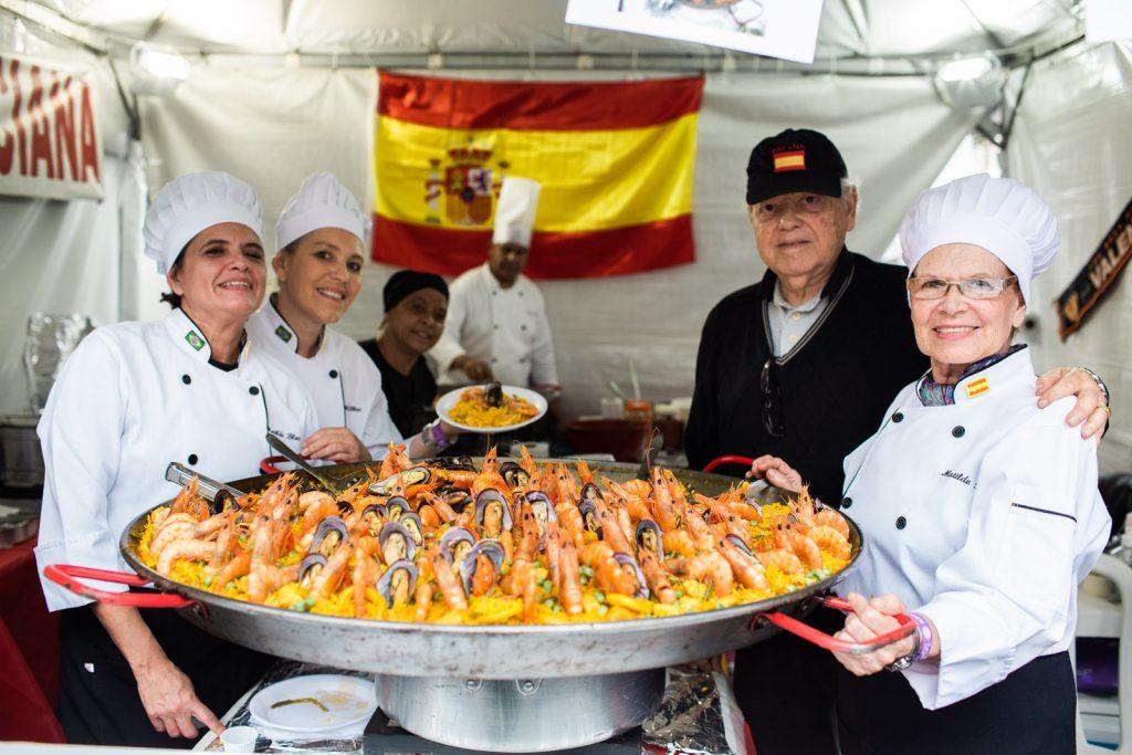 Paella da Espanha