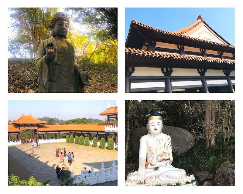 Espaços do Templo Zu Lai