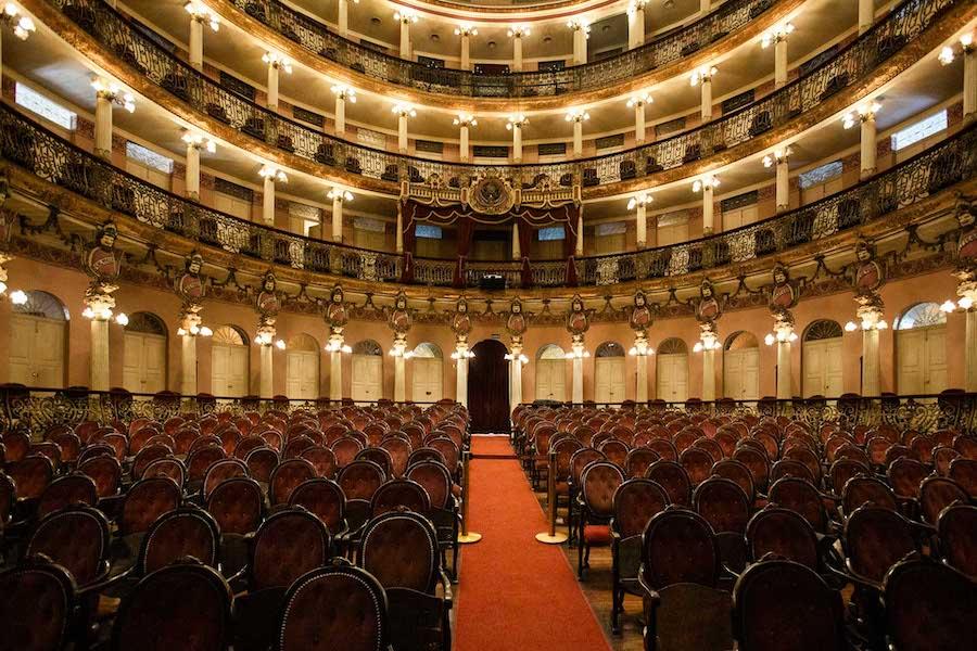 Sala de espetáculos do teatro do Amazonas