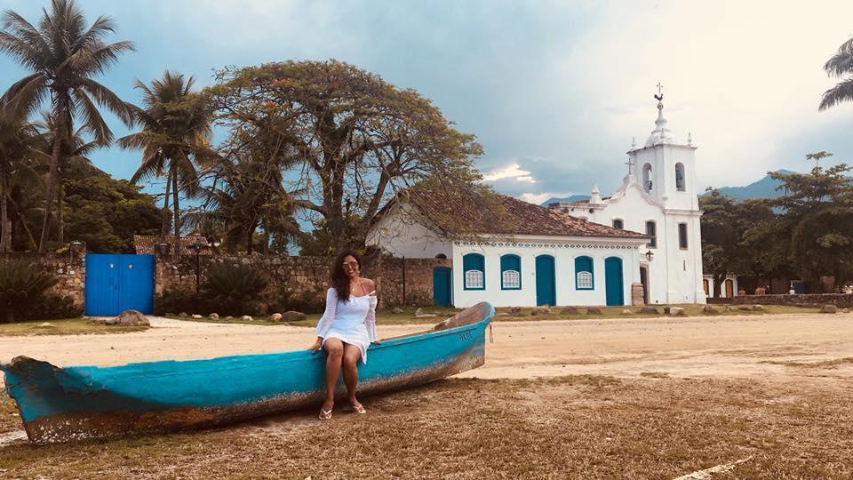 Centro histórico de Paraty no Rio de Janeiro. Uma alternativa para os feriados de 2020
