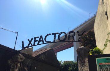 Fachada da LXFactory