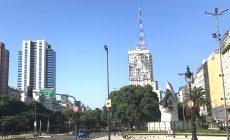 Evita Peron Avenida de Mayo