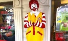 Ronald McDonald na Tailandia