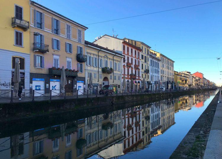Naviglio em Milão