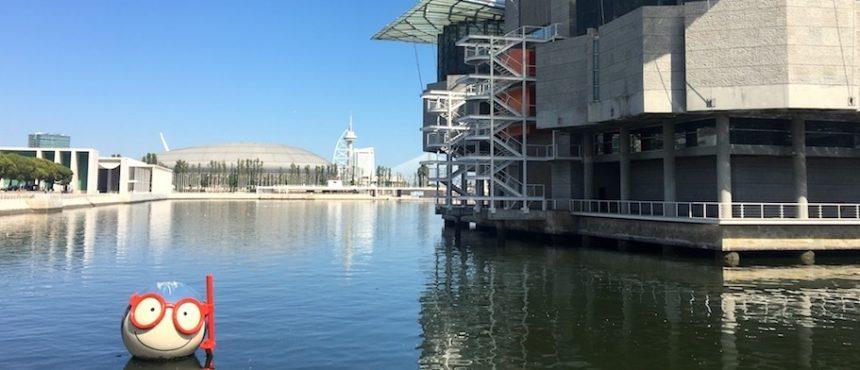 Parte externa do Oceanário de Lisboa