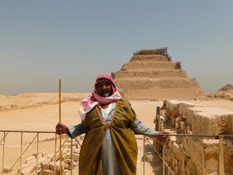 Saqqara no Cairo