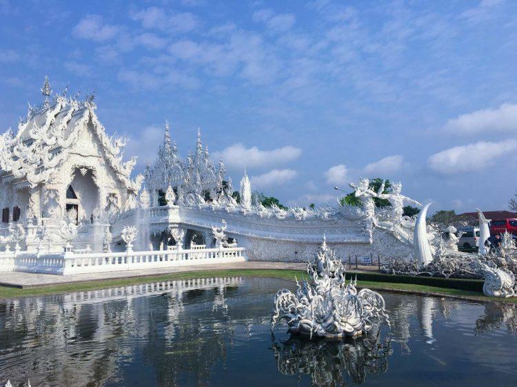 Templo Branco Chiang Rai Tailândia