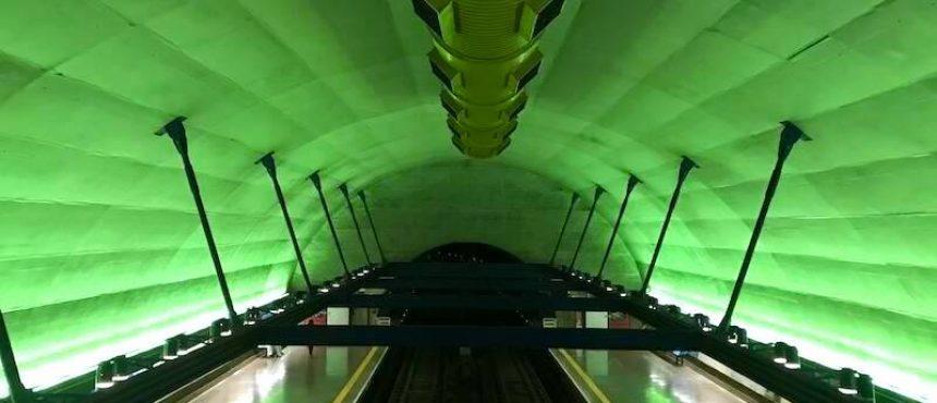 Visita ao metrô de Sao Paulo