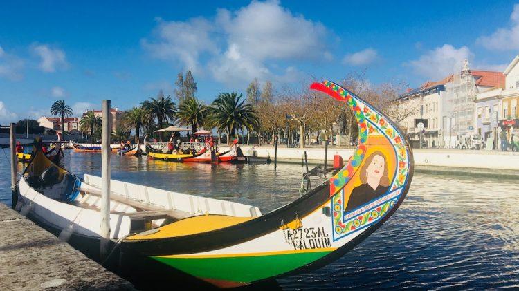Moliceiro barco típico de Aveiro