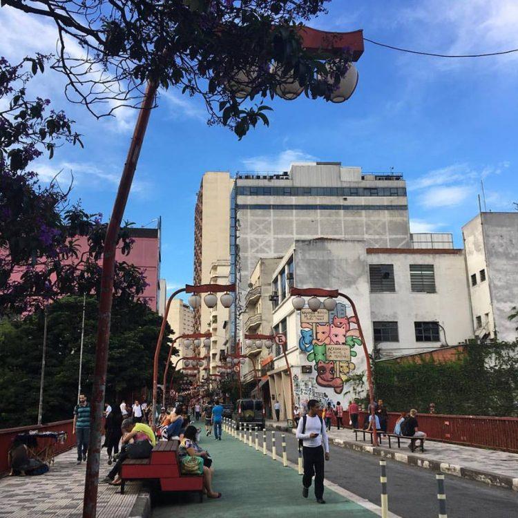 Bairro da Liberdade em São Paulo