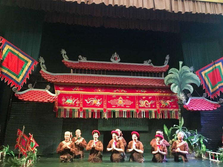 Atores do Teatro vietnamita